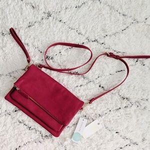 NWT Urban Expressions red crossbody purse